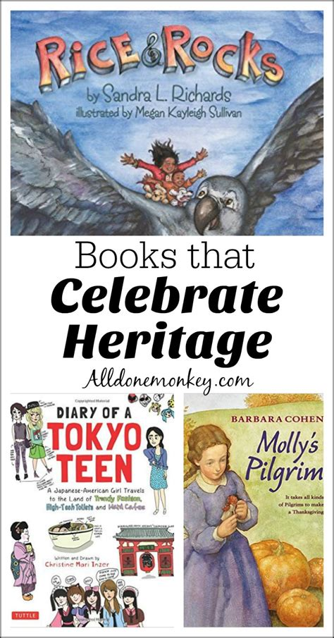 Books That Celebrate Heritage  All Done Monkey