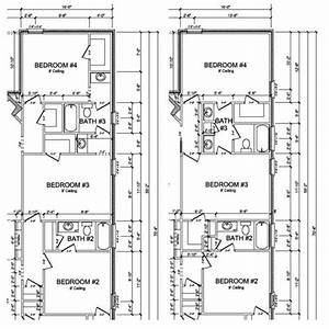 Jack and jill bathroom floor plans photo 4 design your for Home plans with jack and jill bathroom