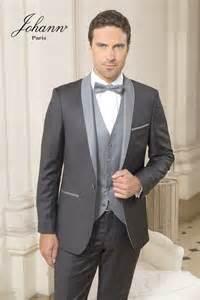 costume gris mariage johann de mariage 3 pièces anthracite et gris