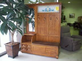Antique Tiger Oak Dresser by Top 12 Bench Hall Tree Photo Ideas Support121