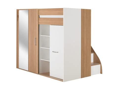 lit mezzanine bureau armoire but lit armoire mezzanine lit mezzanine loft