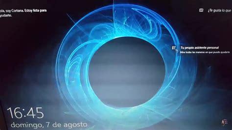 Cortana En Pantalla De Bloqueo Y Mas!