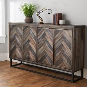 Alpine, Modern, Buffet, Cabinet