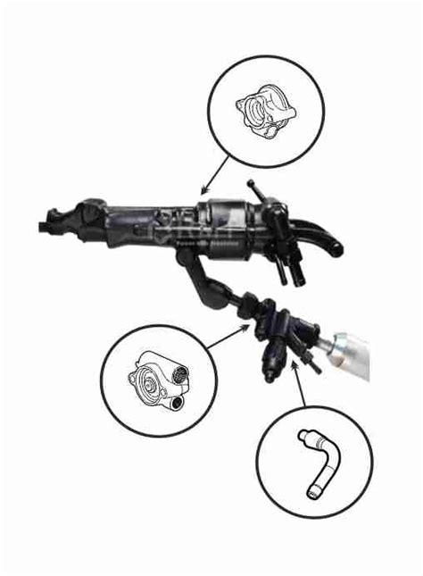 Jackleg Drill Parts