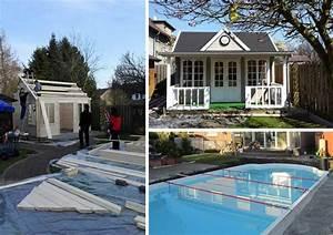 Kleiner Pool Für Terrasse : das richtige fundament f r ihr gartenhaus ~ Orissabook.com Haus und Dekorationen