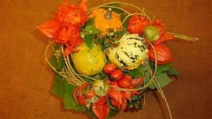 Herbstdeko Basteln Mit Naturmaterialien Blumenstrau Mit