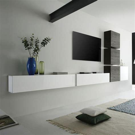 meuble suspendu chambre les 25 meilleures idées de la catégorie meuble tv suspendu