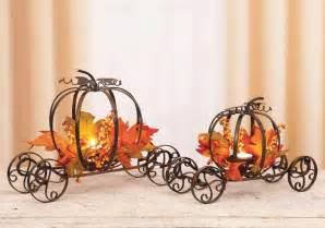 Pumpkin Coach Centerpiece by Pumpkin Carriage Centerpiece Halloween Wedding Shower