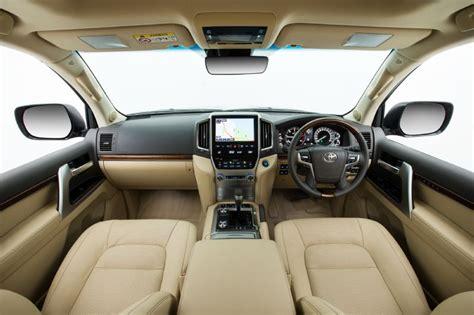 Land Cruiser Interior by Toyota Cars 2016 Toyota Landcruiser 200 Series Pricing