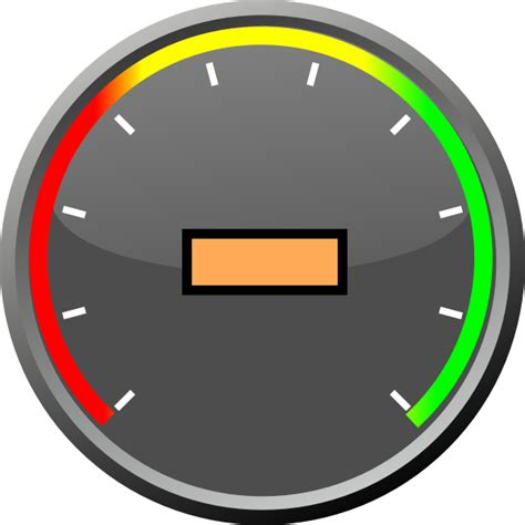 Speedometer With Text Center Clip Art At Clker.com