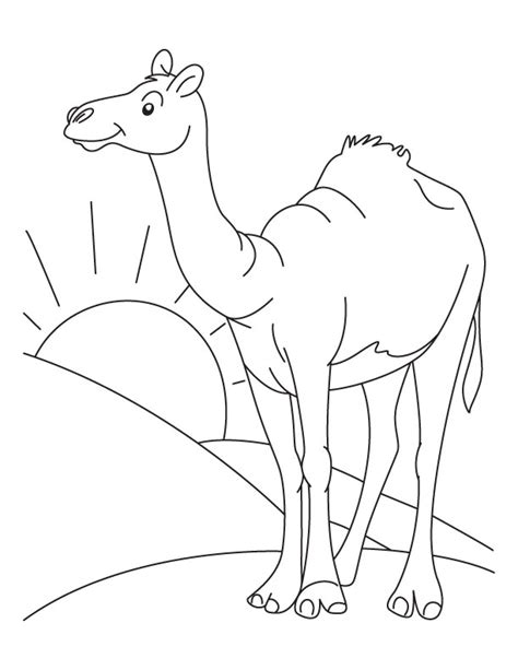 printable desert coloring pages sketch coloring page
