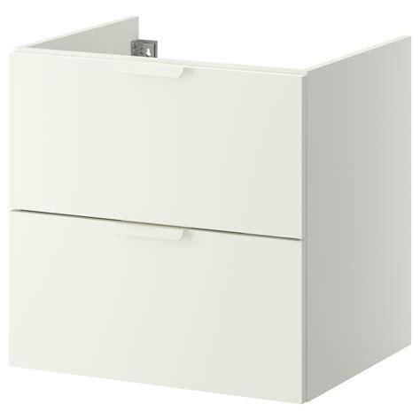 lavabo vasque ikea godmorgon wash stand with 2 drawers white 60x47x58 cm ikea