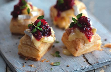 pastry canapes recipes stilton and walnut puffs tesco food