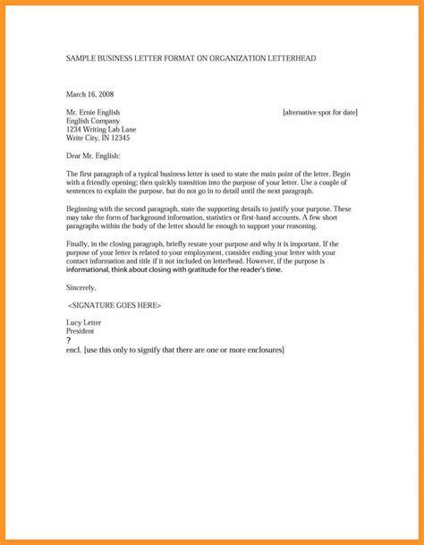 write  formal letter  bio letter format