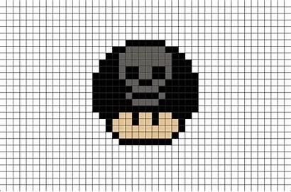 Pixel Mushroom Mario Halloween Skull Scary Designs