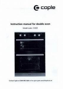Caple C3501 Instruction Manual