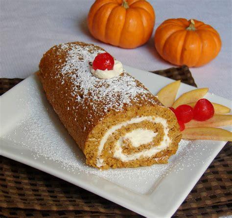 pumpkin cake roll kitchen corner try it pumpkin cake roll
