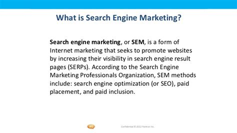 Define Seo Marketing by Seo Smo Ppt By Sushen Jamwal