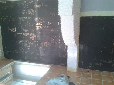 plan de travail cuisine ardoise recouvrir un plan de travail en faience par du beton cire