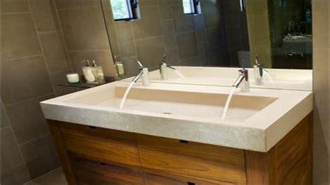 double faucet trough sink trough sinks for bathrooms double faucet trough sink