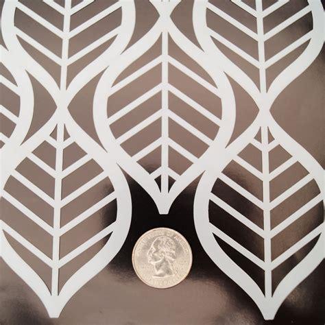 Muster Schablonen by Deco Leaves Pattern Stencil Glass Delphi Glass