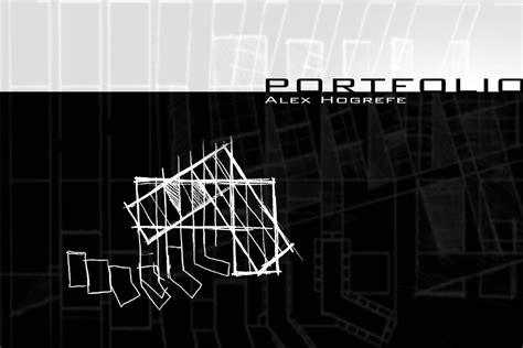 12772 architecture cover page design 2007 undergraduate architecture portfolio by alex hogrefe