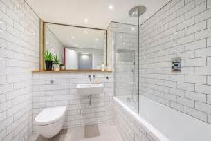 small tiled bathroom ideas 13 schicke badezimmer mit metro fliesen