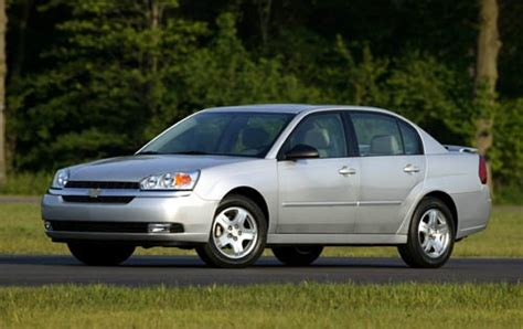 Maintenance Schedule For 2005 Chevrolet Malibu Openbay