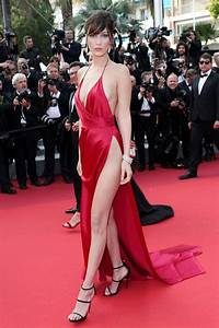 cannes 2016 bella hadid ultra sexy dans sa robe fendue With robe alexandre vauthier