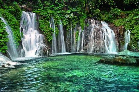 madakaripura waterfall east java indonesia bromo east java