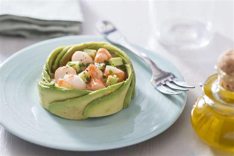 cours de cuisine chef étoilé salade d 39 avocat et crevettes recette de salade d 39 avocat
