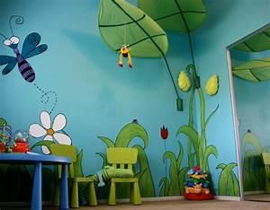 chambre bébé thème jungle Deco Maison Moderne