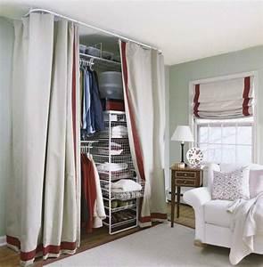 Offener Schrank Vorhang : offener kleiderschrank mit vorhang schlafzimmer pinterest kleiderschrank mit vorhang ~ Markanthonyermac.com Haus und Dekorationen
