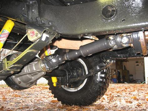 cardan joint   fitted  fj rear propshaft ihmud forum