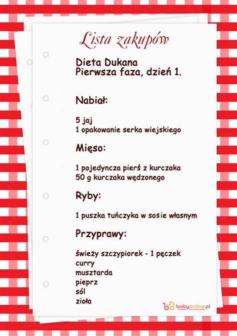 dieta dukana faza 1 ile trwa
