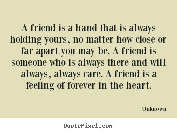 Holding Hands Friends Quotes