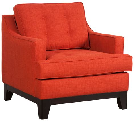 chicago burnt orange arm chair from zuo mod 100173