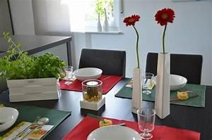 Italienische Deko Ideen : italienische tischdeko mit vase stile tiziano tischdeko ~ Lizthompson.info Haus und Dekorationen