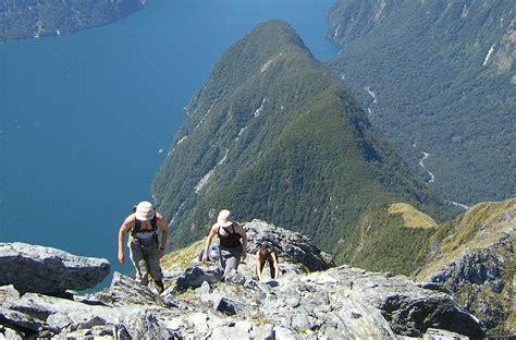 Climb Mitre Peak, New Zealand