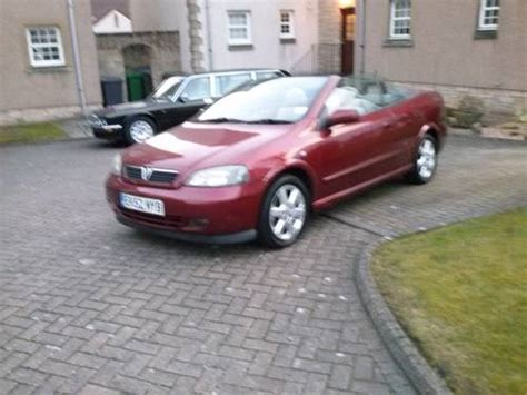 Vauxhall Astra Bertone Convertible Sold (2002) On Car And