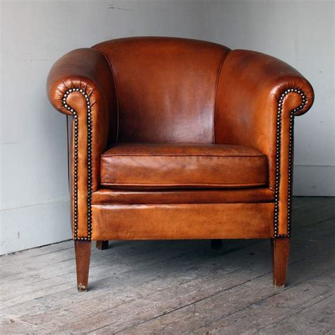 vintage tub chairs antique leather tub chair antique furniture 3262