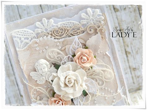 shabby chic wedding card ideas shabby chic wedding cards wild orchid crafts dt scrap art by lady e