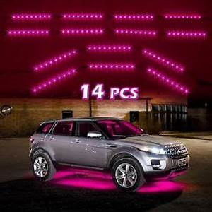 14pc Pink Car Truck Underglow Under Body from xkglow led