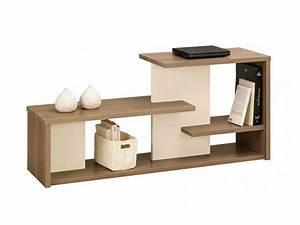 Meuble Tv Etagere : tweed meuble tv by gautier france ~ Teatrodelosmanantiales.com Idées de Décoration