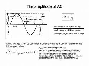 AC/DC POWER SUPPLY An alternating current (AC) is an ...