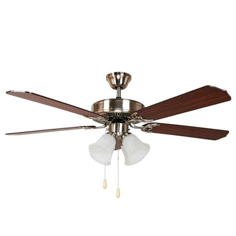 52 brushed nickel ceiling fan y decor harli 52 in brushed nickel ceiling fan harli bbn
