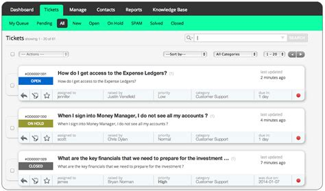 help desk software help desk software for financial services management