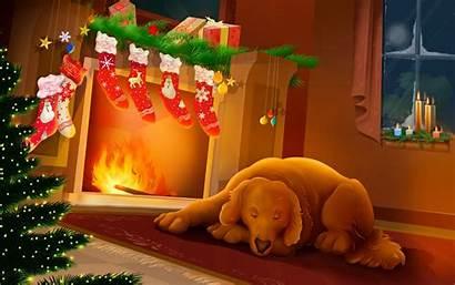 Christmas Merry Desktop Wallpapers Zoo Animals