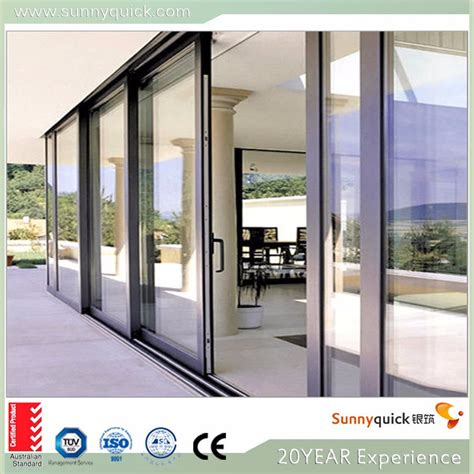 low price aluminum sliding glass door used sliding glass