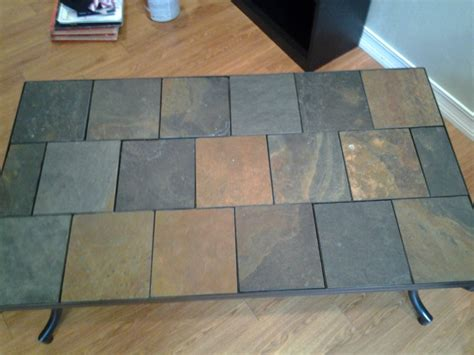 tile coffee table and end tables florida port